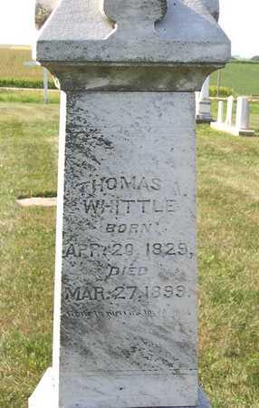 WHITTLE, THOMAS A. - Benton County, Iowa | THOMAS A. WHITTLE
