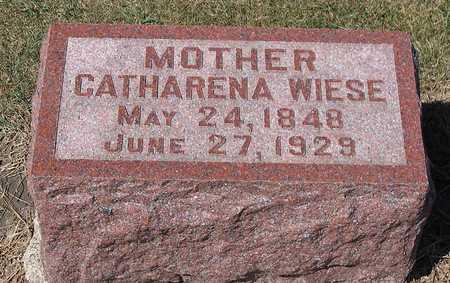 WIESE, CATHARINA - Benton County, Iowa | CATHARINA WIESE