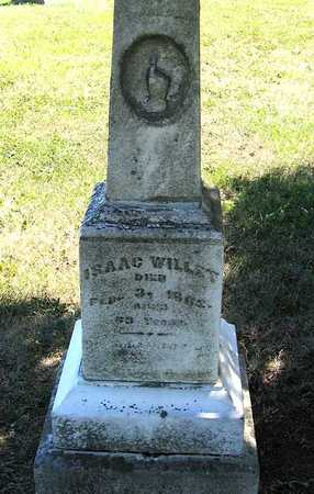 WILLET, ISAAC - Benton County, Iowa | ISAAC WILLET