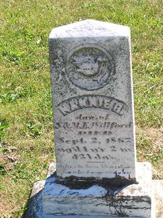 WILLFORD, NANNIE H. - Benton County, Iowa | NANNIE H. WILLFORD