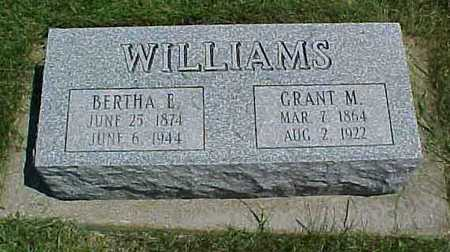 WILLIAMS, BERTHA E. - Benton County, Iowa | BERTHA E. WILLIAMS