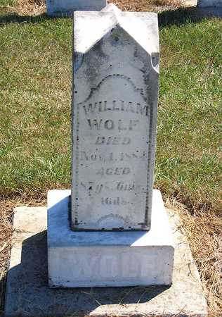 WOLF, WILLIAM - Benton County, Iowa | WILLIAM WOLF