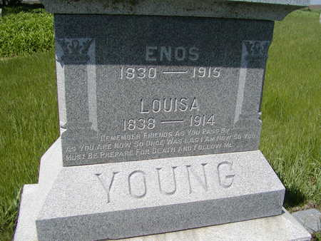 YOUNG, ENOS - Benton County, Iowa | ENOS YOUNG