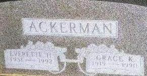 ACKERMAN, EVERETTE H. - Black Hawk County, Iowa | EVERETTE H. ACKERMAN