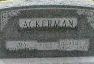 TEGTMEIER ACKERMAN, IDA - Black Hawk County, Iowa | IDA TEGTMEIER ACKERMAN