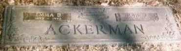 ACKERMAN, JOHN J. - Black Hawk County, Iowa | JOHN J. ACKERMAN