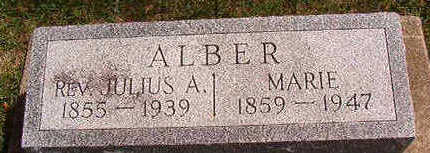 ALBER, MARIE - Black Hawk County, Iowa | MARIE ALBER