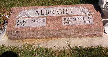 ALBRIGHT, ALICE MARIE - Black Hawk County, Iowa | ALICE MARIE ALBRIGHT