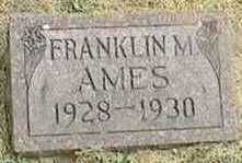 AMES, FRANKLIN M. - Black Hawk County, Iowa | FRANKLIN M. AMES