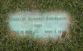 ANDERSON, CHARLES EDWARD - Black Hawk County, Iowa | CHARLES EDWARD ANDERSON