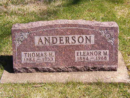 SAVAGE ANDERSON, ELEANOR MAY - Black Hawk County, Iowa | ELEANOR MAY SAVAGE ANDERSON