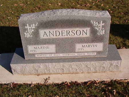 ANDERSON, MARVIN - Black Hawk County, Iowa | MARVIN ANDERSON