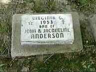 ANDERSON, VIRGINIA G. - Black Hawk County, Iowa | VIRGINIA G. ANDERSON