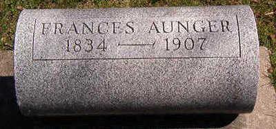 AUNGER, FRANCES - Black Hawk County, Iowa | FRANCES AUNGER