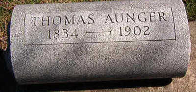 AUNGER, THOMAS - Black Hawk County, Iowa | THOMAS AUNGER
