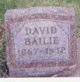 BAILIE, DAVID - Black Hawk County, Iowa | DAVID BAILIE