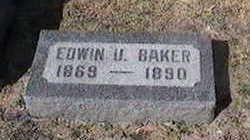BAKER, EDWIN U. - Black Hawk County, Iowa | EDWIN U. BAKER