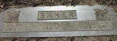 BAKER, FORREST  FRED - Black Hawk County, Iowa | FORREST  FRED BAKER