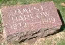 BARLOW, JAMES F. - Black Hawk County, Iowa   JAMES F. BARLOW