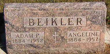 BEIKLER, ANGELINE - Black Hawk County, Iowa | ANGELINE BEIKLER