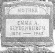 BLYDENBURGH, EMMA - Black Hawk County, Iowa | EMMA BLYDENBURGH
