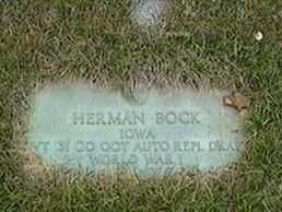 BOCK, HERMAN - Black Hawk County, Iowa | HERMAN BOCK
