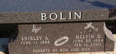 BOLIN, MELVIN D. - Black Hawk County, Iowa | MELVIN D. BOLIN