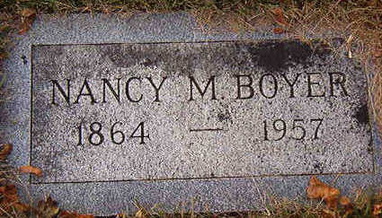 BOYER, NANCY M. - Black Hawk County, Iowa | NANCY M. BOYER