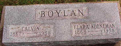 KOENEMAN BOYLAN, CLARA - Black Hawk County, Iowa | CLARA KOENEMAN BOYLAN