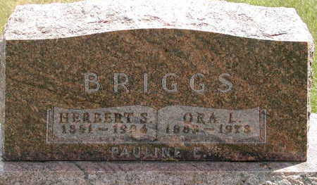 BRIGGS, ORA L. - Black Hawk County, Iowa | ORA L. BRIGGS