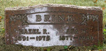 BRINK, ASA W. - Black Hawk County, Iowa | ASA W. BRINK