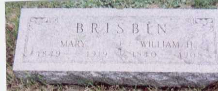 BRISBIN, WILLIAM H. - Black Hawk County, Iowa | WILLIAM H. BRISBIN