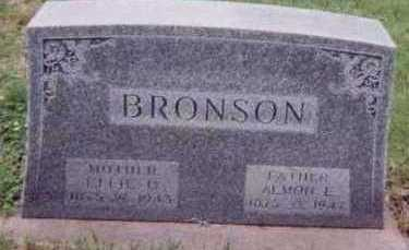 BRONSON, EFFIE U. - Black Hawk County, Iowa | EFFIE U. BRONSON