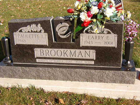 BROOKMAN, LARRY E. - Black Hawk County, Iowa | LARRY E. BROOKMAN
