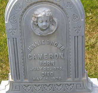 CAMERON, JENNIE BROWN - Black Hawk County, Iowa | JENNIE BROWN CAMERON
