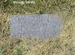 BROWN, WILLIAM - Black Hawk County, Iowa | WILLIAM BROWN