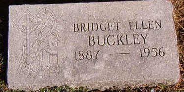 BUCKLEY, BRIDGET ELLEN - Black Hawk County, Iowa | BRIDGET ELLEN BUCKLEY