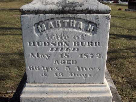 BURR, MARTHA H. - Black Hawk County, Iowa | MARTHA H. BURR