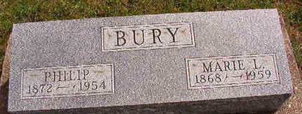 BURY, MARIE L. - Black Hawk County, Iowa | MARIE L. BURY