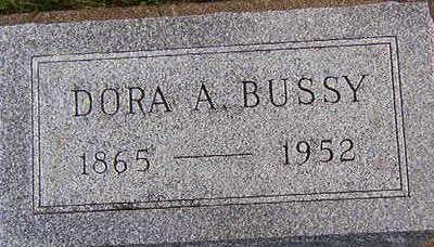 BUSSY, DORA A. - Black Hawk County, Iowa | DORA A. BUSSY