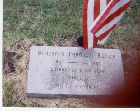 BUTLER, BENJAMIN FRANKLIN - Black Hawk County, Iowa | BENJAMIN FRANKLIN BUTLER
