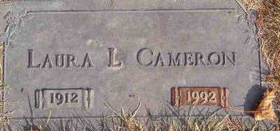 CAMERON, LAURA L. - Black Hawk County, Iowa | LAURA L. CAMERON