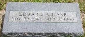 CARR, EDWARD A. - Black Hawk County, Iowa | EDWARD A. CARR