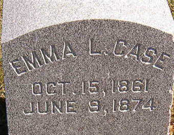 CASE, EMMA L. - Black Hawk County, Iowa | EMMA L. CASE