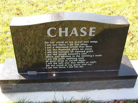 CHASE, WILLIAM J. - Black Hawk County, Iowa | WILLIAM J. CHASE