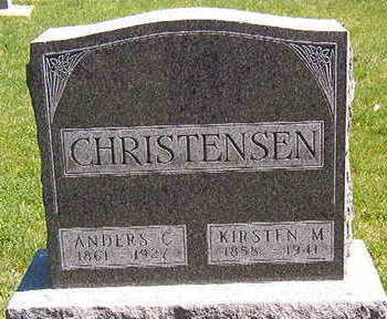 CHRISTENSEN, ANDERS C. - Black Hawk County, Iowa | ANDERS C. CHRISTENSEN