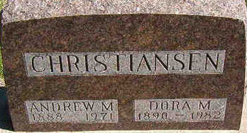 CHRISTIANSEN, DORA M. - Black Hawk County, Iowa | DORA M. CHRISTIANSEN