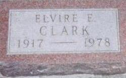 CLARK, ELVIRE - Black Hawk County, Iowa | ELVIRE CLARK