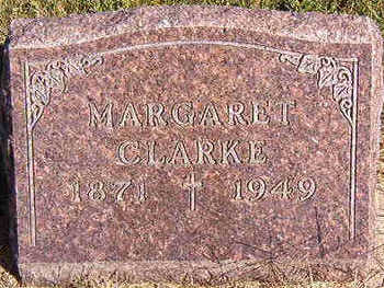 CLARKE, MARGARET - Black Hawk County, Iowa | MARGARET CLARKE