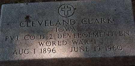 CLEVELAND, CLARK - Black Hawk County, Iowa | CLARK CLEVELAND